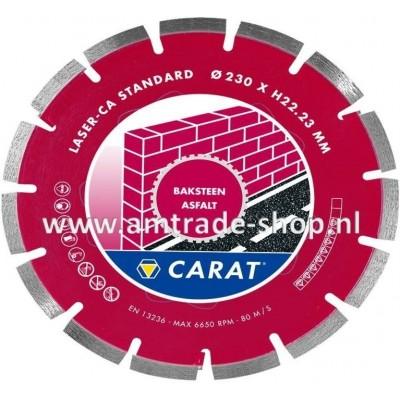 CARAT LASER BAKSTEEN / ASFALT STANDAARD - CA Ø125mm