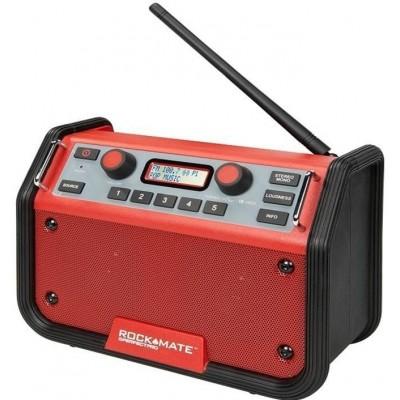ROCKMATE® Bouwradio + GRATIS batterijen