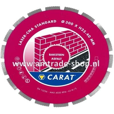 CARAT LASER BAKSTEEN / ASFALT STANDAARD - CNA Ø350mm