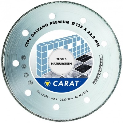 CARAT GALVANO PREMIUM - CEPC Ø180mm