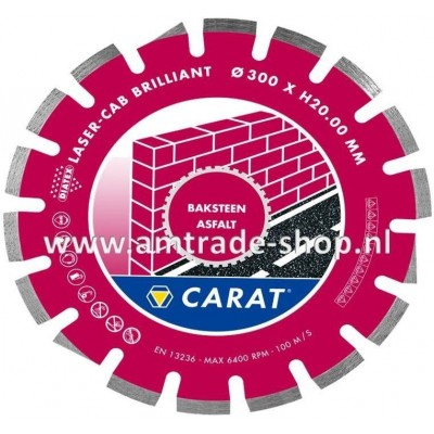 CARAT LASER ASFALT BRILLIANT - CAB Ø300mm