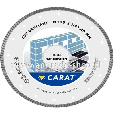 CARAT TEGELS / NATUURSTEEN BRILLIANT - CDC Ø180mm