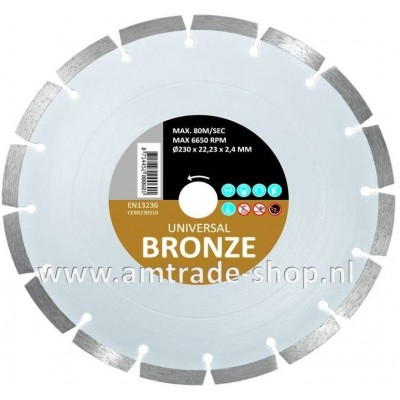 CARAT UNIVERSEEL ECONOMY - BRONZE Ø150mm