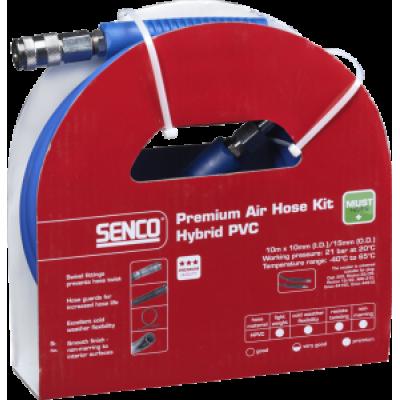 Premium luchtslang kit, universeel hybride PVC, 10mx10,0mm