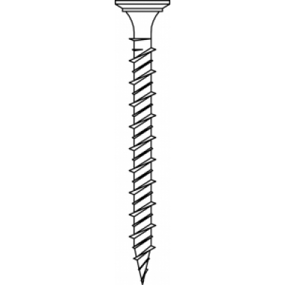 Gipsplaatschroef voor hout of metaal  stud 3,9x35mm