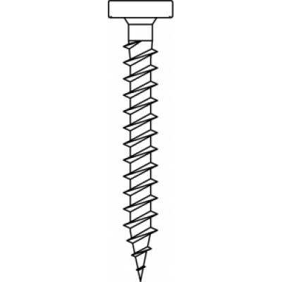 Vezelplaatschroeven op licht staal, 4, 2x38mm