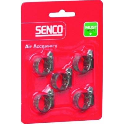 Senco slangklemmen set 5-delig 10-16mm